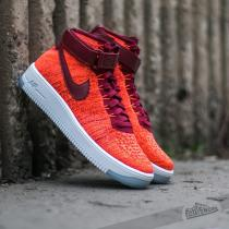 Nike W Air Force 1 Flyknit Total Crimson/ Team Red